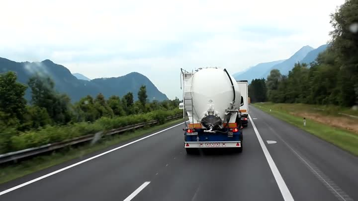 Trucking at summer - ITALY