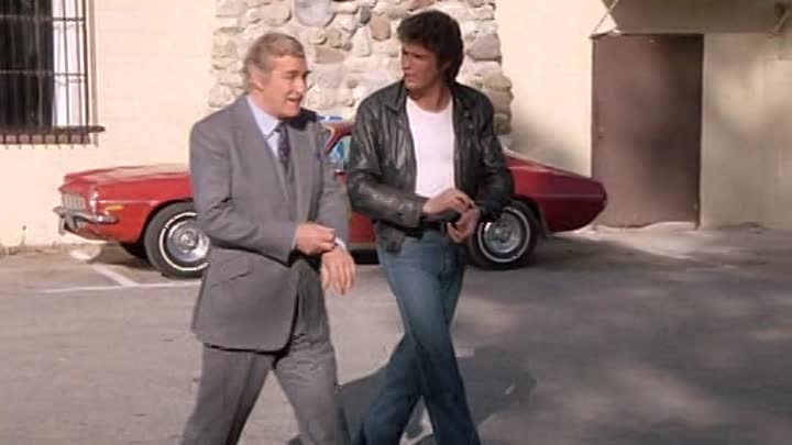 Видео: Knight Rider - S01E22 - Short Notice (Dvd Rip) Rus&Eng by Voyager