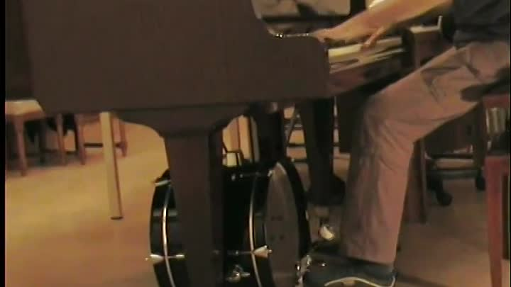 Alexandra Stan - Mr Saxobeat piano & drum cover acoustic instrumental unplugged by LiveDjFlo