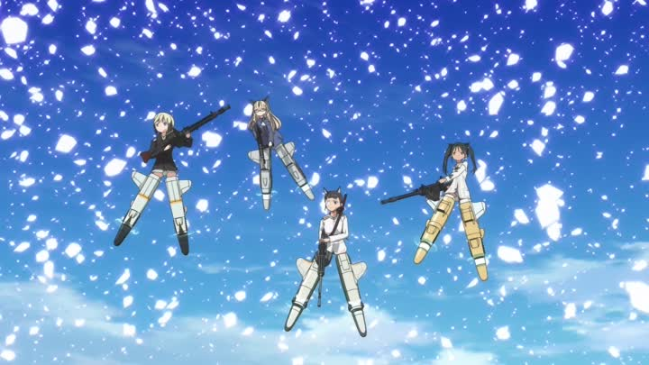 Видео: [Ecchi King Fansub] Strike Witches 2 - 04 (1920x1080 h264 BD FLAC) [C2D056BD]