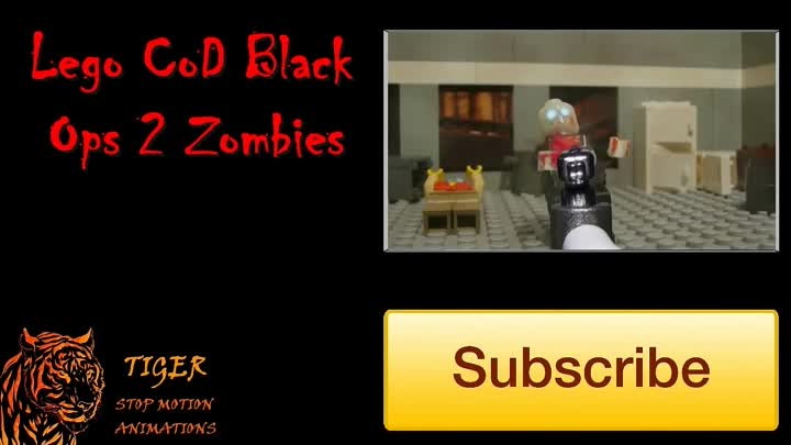 Видео: Lego zombie hunters - Lego zombie movie