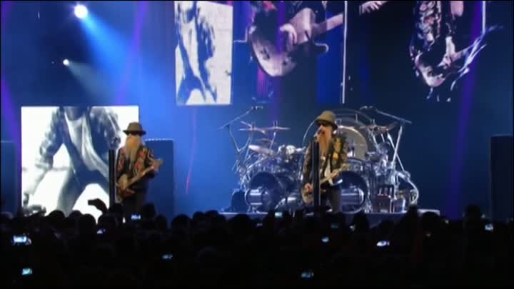 "ZZ Top - Gimme All Your Lovin' (Live at Music Festival ""Montreux""-2013)_@"