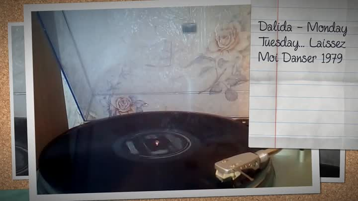 Dalida ‎– Monday Tuesday... Laissez Moi Danser 1979