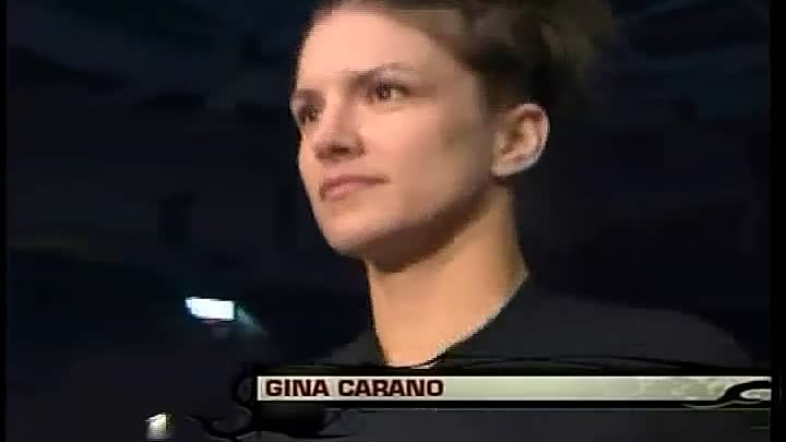 "Gina Carano ""Just Run"""