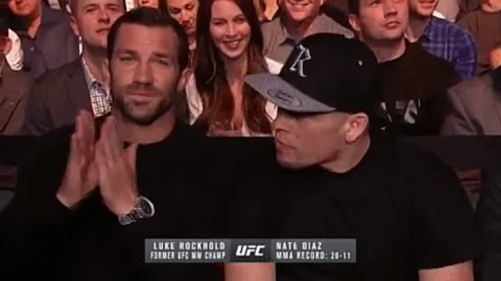 Diaz and Rockhold on UFC209