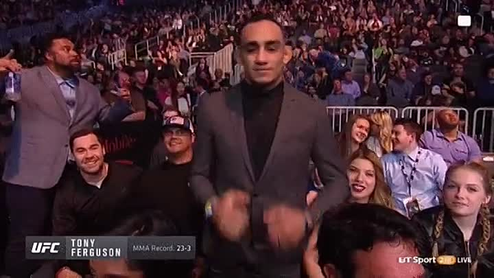 Tony Ferguson on UFC209