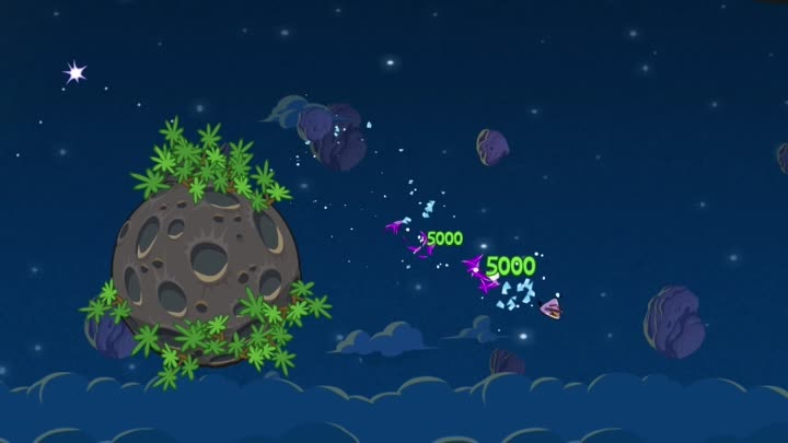 Lazer Bird hits Angry Birds Space on March 22