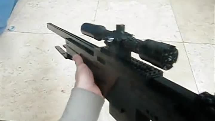 Видео: Call Of Duty: Black Ops: LEGO L96A1 w/ Variable Zoom Scope