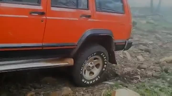 Jeep cherokee xj 96 4x4 test