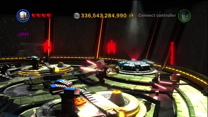 Видео: Lego Star Wars III The Clone Wars - A Tour of the Invisible Hand and the Space Mission