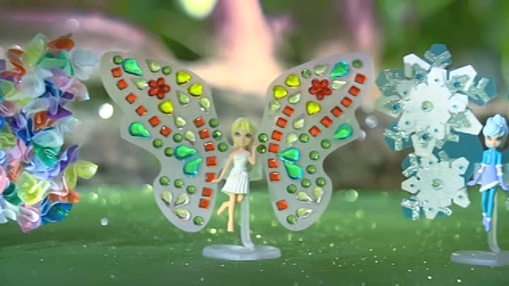 Видео: Shimmer Wings Fairies_v6
