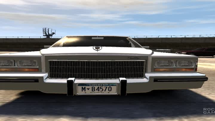Видео: GTA IV : American gangster's car