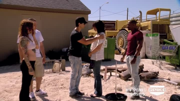 Criss Angel BeLIEve: Criss Impales A Woman With A Spike (On Spike)