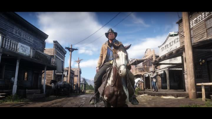 Red Dead Redemption 2 Official Trailer #2