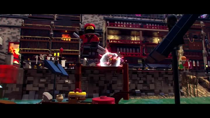 Видео: The LEGO Ninjago Movie Video Game — трейлер анонса