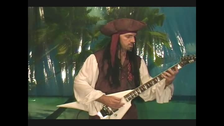 Heavy Metal Version of Pirates of the Carribean on Guitar by BobbyCrispy