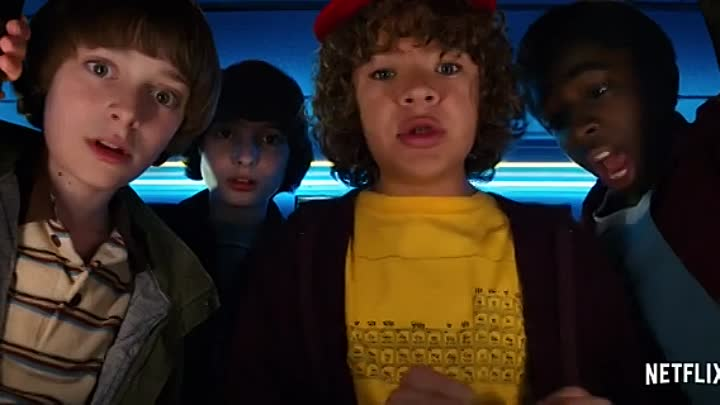 Видео: Stranger Things Season 2 Comic Con Thriller Trailer [HD] Netflix