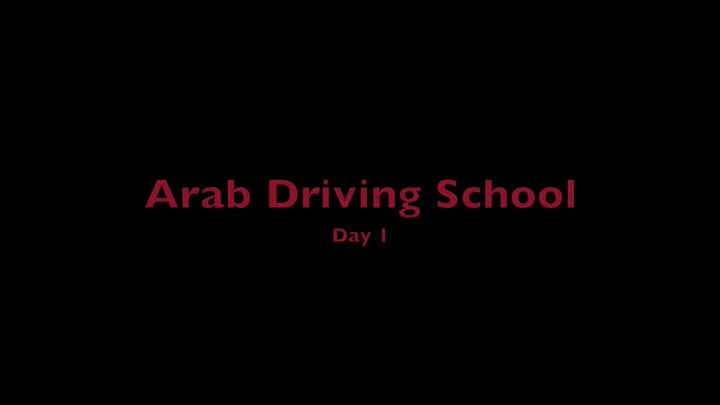 Arab Driving School Part 1