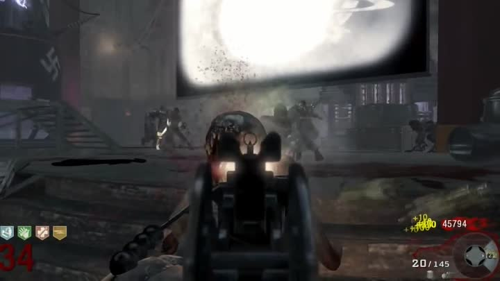 Видео: Black Ops Zombies: All Guns Pack-A-Punched In Game - Kino Der Toten | Part 12 By Syndicate