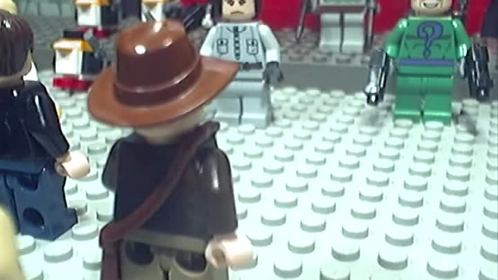 Видео: Lego Star Wars, Batman and Indiana Jones Movie