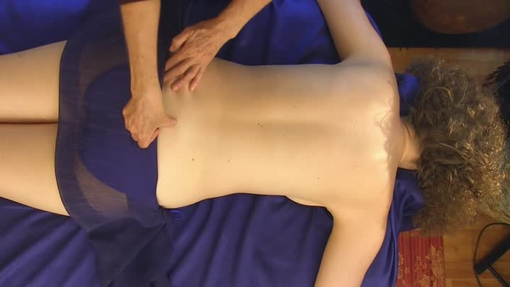 Back Massage Pure Relaxation Technique How To Give A Back Massage, ASMR Athena Jezik
