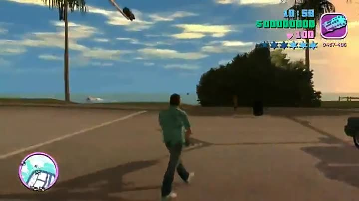 Видео: Обзор игры gta Vice City - (grand theft auto:Vice City).