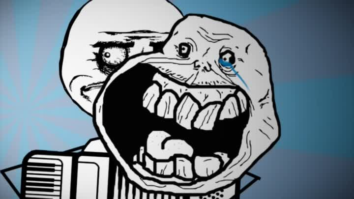 Rage Faces Song - Fat and Alone (Troll Face, Me Gusta