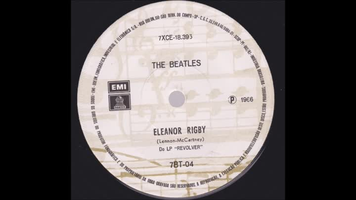 Видео: The Beatles_ Eleanor Rigby ./ Yellow Submarine