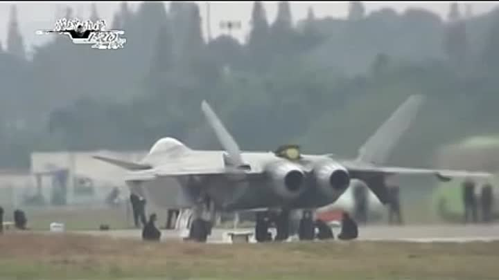 Видео: China tests ADVANCED STEALTH Aircraft J 20 rival to the US Air force F22 and F35.avi