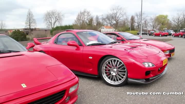 Видео: Mazda RX-7 FD3S Twin-Turbo 550HP! HUGE Flame from Exhaust!