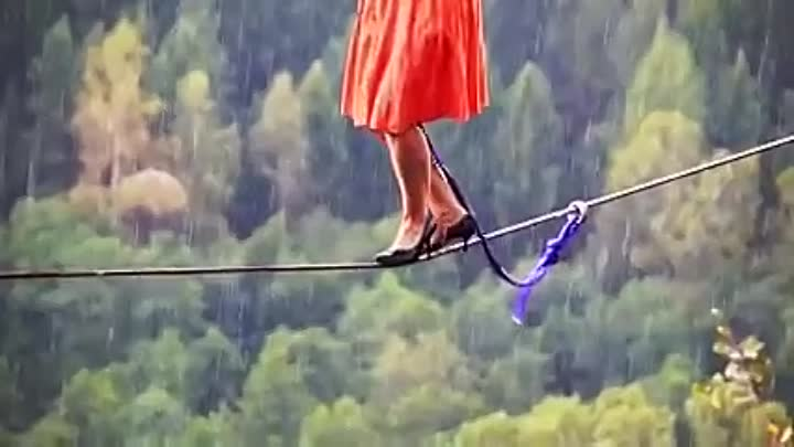 How do they do it Rope Walking on High Heels