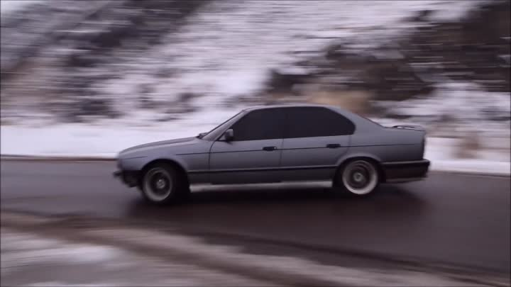 BMW e34 Drift Erevan