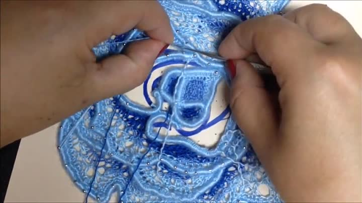 Видео: VIDEO Nº18(2). ROSA CON RED TUNECINA. CROCHET IRLANDES