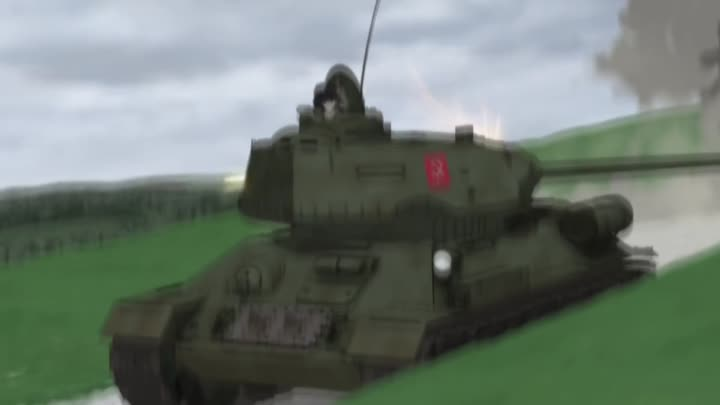 Girls und Panzer [AMV] Pravda- ☭The Red Army is the