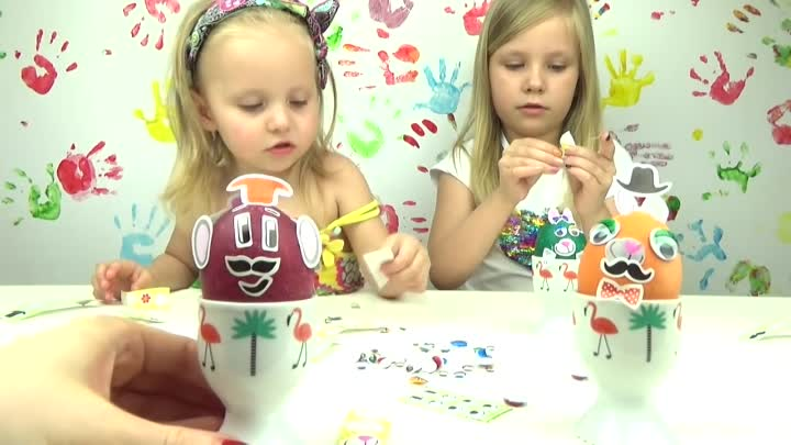 Видео: ЧЕЛЛЕНДЖ НАРЯДИ ЯИЧКИ веселые и смешные яйца DRESS UP EGGS CHALLENGE DIY EASTER