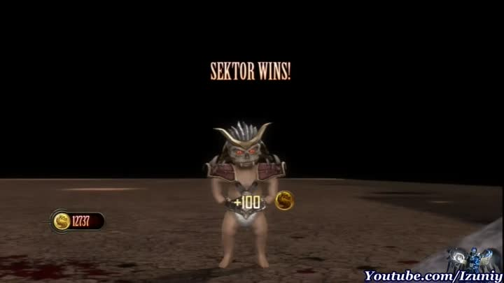 Видео: Mortal Kombat 9 It's official Baby Shao Kahn Say: You suck! Babality - Part 33