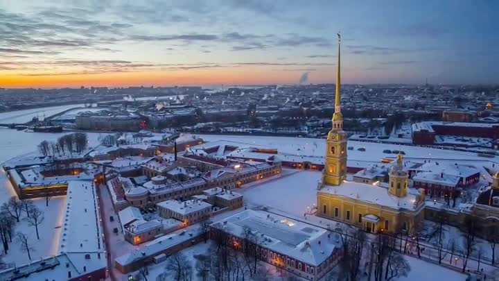 Видео: St Petersburg winter. Зимний Петербург