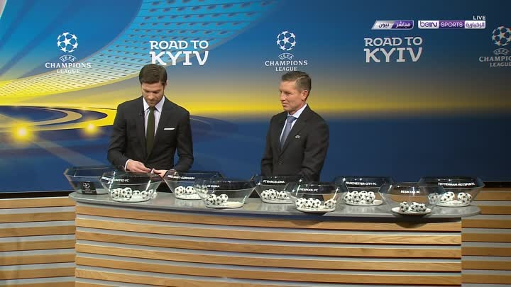 Видео: UCL Round Of 16 Draw 2018 720pHD barcelona-hd.net