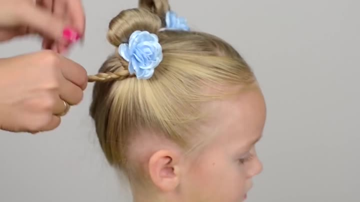 Видео: TOP 5 SPECTACULAR hairstyles in 5 minutes. BACK TO SCHOOL. COMPILATION #2