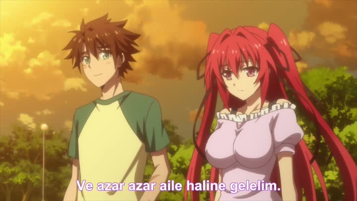 Видео: [Ecchi King Fansub] Shinmai Maou no Testament - 01 [BD][720p]