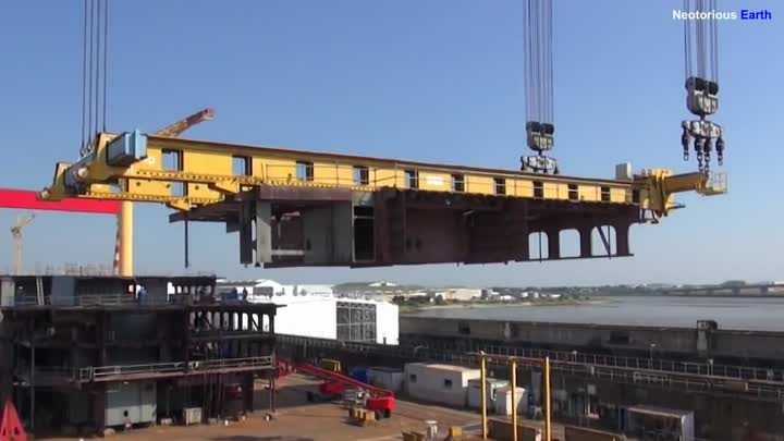 Harmony of the Seas - The construction of the biggest cruise ship