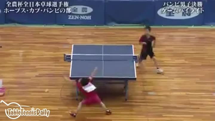 Видео: THE MOST INTENSE TABLE TENNIS MATCH EVER!