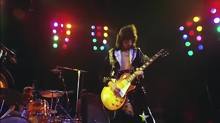 """Видео: LED ZEPPELIN-Rock And Roll 1973-(musik.klab ROK ДЖУНГЛИ!!! -""""(official)""""."""