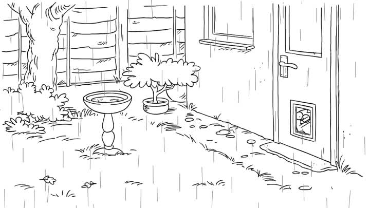 April Showers - Simon's Cat