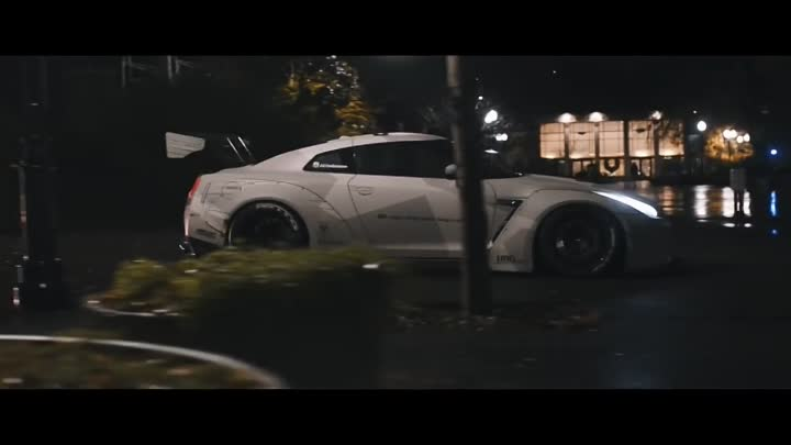 STRANGER THINGS - Jaden's Liberty Walk Nissan GT-R R35