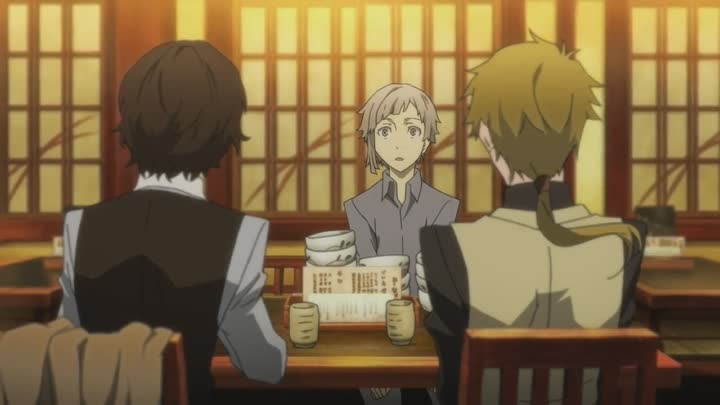 Видео: Bungou Stray Dogs • Великий из бродячих псов 1 сезон 1 серия
