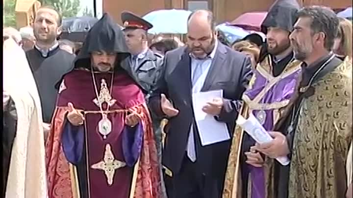 Consecration of the Church in the Janfida village