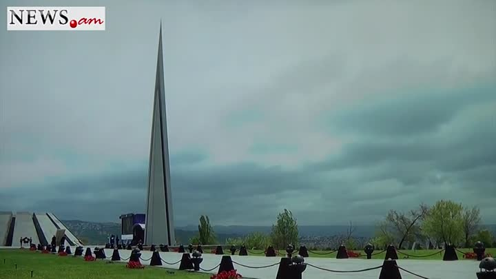 7 year old Armenian boy plays duduk at Genocide Commemoration ceremony