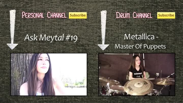 Видео: SLIPKNOT - PSYCHOSOCIAL - DRUM COVER BY MEYTAL COHEN
