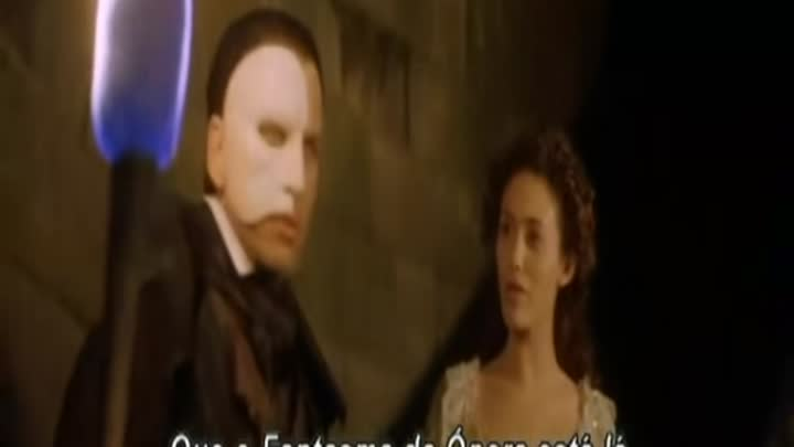 Видео: O Fantasma da Ópera(The Phantom Of Opera) Legendado PT-BR